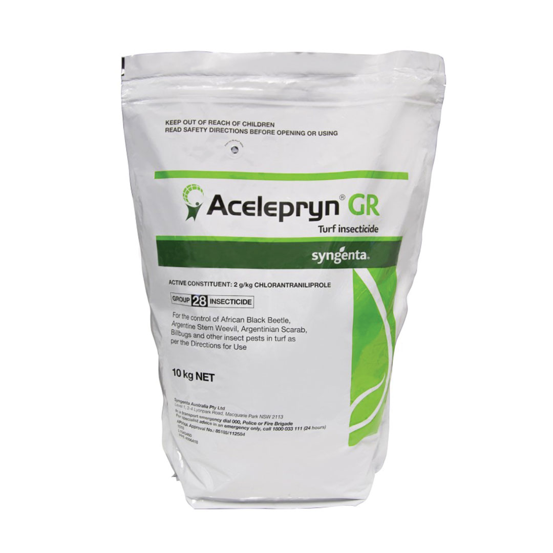 Product bag Acelepryn GR Turf Insecticide