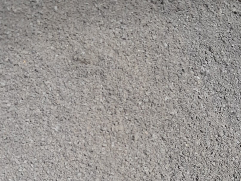 building product sample crusher dust