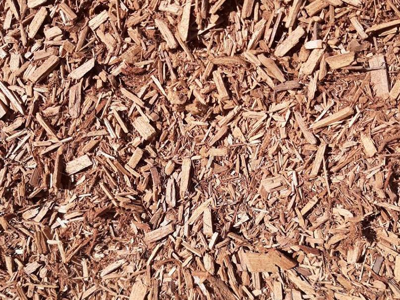 Mulch sample Cypress Fines